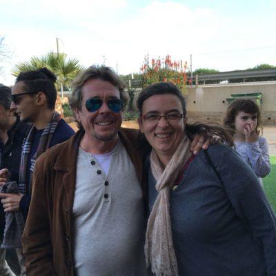 Fam trip FICAL 2015, con Juan Muñoz