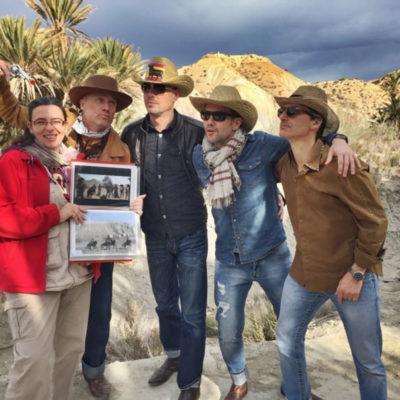 Grupo de fans western