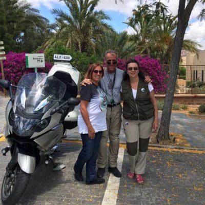 Press trip motoristas italianos