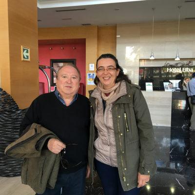 Con Fernando Esteso