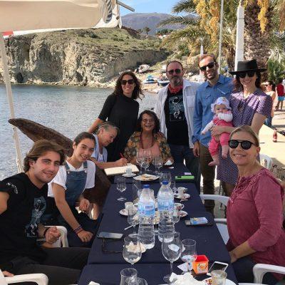 Claudia Cardinale (Premio Tabernas de Cine 2018), Claudia Squitieri, Familia de Carlo Simi (Premio Leone in Memoriam 2018), Guillermo de Oliveira y familia (Premio a la aportación técnico-artística al Western).