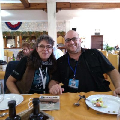 "Con Christophe Karabache - AWFF 2018. Director ""Utravokal"" primer premio Neowestern"