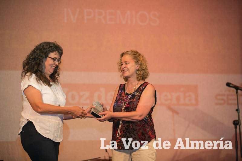 Entrega de premios filabres alhamilla a Malcaminos