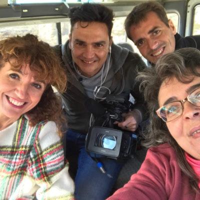 Rodando en el Desierto con el equipo de Canal Sur